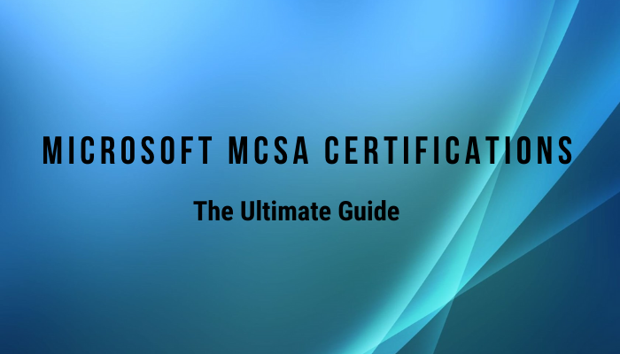 MCSA Certification, Microsoft Certification, MCSA BI Reporting, 70-778 Certification, 70-779 Certification