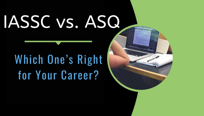asq vs iassc, six sigma certification asq vs iassc, asq vs iassc green belt, iassc vs asq, yellow belt, green belt, black belt