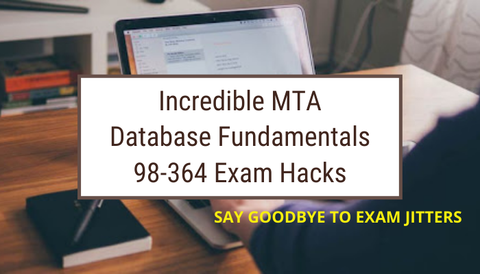 MTA Database Fundamentals certification is an proper entry point that can make you advance your future career in the field of network Database.