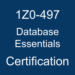 1Z0-497, Oracle Database 12c Essentials, Oracle Database 12c, 1Z0-497 Study Guide, 1Z0-497 Practice Test, 1Z0-497 Sample Questions, 1Z0-497 Simulator, 1Z0-497 Certification, Oracle 1Z0-497 Questions and Answers, Oracle Database 12c Certified Implementation Specialist (OCS), Oracle Database Essentials Certification Questions, Oracle Database Essentials Online Exam, Database Essentials Exam Questions, Database Essentials, 1Z0-497 Study Guide PDF, 1Z0-497 Online Practice Test, Oracle Database 12c Mock Test