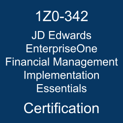 1Z0-342, 1Z0-342 Study Guide, 1Z0-342 Practice Test, 1Z0-342 Sample Questions, 1Z0-342 Simulator, JD Edwards EnterpriseOne Financial Management 9.2 Implementation Essentials, 1Z0-342 Certification, Oracle 1Z0-342 Questions and Answers, JD Edwards EnterpriseOne Financial Management 9.2 Certified Implementation Specialist (OCS), Oracle JD Edwards Financial Management, Oracle JD Edwards EnterpriseOne Financial Management Implementation Essentials Certification Questions, Oracle JD Edwards EnterpriseOne Financial Management Implementation Essentials Online Exam, JD Edwards EnterpriseOne Financial Management Implementation Essentials Exam Questions, JD Edwards EnterpriseOne Financial Management Implementation Essentials, 1Z0-342 Study Guide PDF, 1Z0-342 Online Practice Test, JD Edwards EnterpriseOne Financial Management 9.2 Mock Test, jd edwards certification oracle, jd edwards enterpriseone implementations, jd edwards implementation, jd edwards implementations, jd edwards financial management