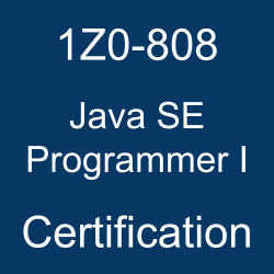 1Z0-808, 1Z0-808 Sample Questions, Java SE 8 Programmer I, 1Z0-808 Study Guide, 1Z0-808 Practice Test, 1Z0-808 Simulator, 1Z0-808 Certification, Oracle 1Z0-808 Questions and Answers, Oracle Certified Associate Java SE 8 Programmer (OCA), Oracle Java SE, Oracle Java SE Programmer I Certification Questions, Oracle Java SE Programmer I Online Exam, Java SE Programmer I Exam Questions, Java SE Programmer I, 1Z0-808 Study Guide PDF, 1Z0-808 Online Practice Test, Java SE 8 Mock Test