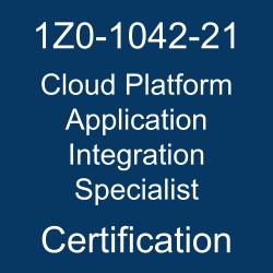 Oracle Integration Cloud, Oracle Cloud Platform Application Integration Specialist Certification Questions, Oracle Cloud Platform Application Integration Specialist Online Exam, Cloud Platform Application Integration Specialist Exam Questions, Cloud Platform Application Integration Specialist, 1Z0-1042-21, Oracle 1Z0-1042-21 Questions and Answers, Oracle Cloud Platform Application Integration 2021 Certified Specialist (OCS), 1Z0-1042-21 Study Guide, 1Z0-1042-21 Practice Test, 1Z0-1042-21 Sample Questions, 1Z0-1042-21 Simulator, Oracle Cloud Platform Application Integration 2021 Specialist, 1Z0-1042-21 Certification, 1Z0-1042-21 Study Guide PDF, 1Z0-1042-21 Online Practice Test, Oracle Application Development 2021 Mock Test