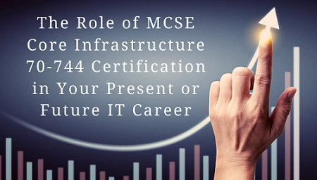 MCSE: Core Infrastructure Certification,MCSE: Core Infrastructure Certification Practice Test, 70-744, Securing Windows Server 2016, 70-745, Microsoft Implementing a Software-Defined Datacenter, 70-413, Designing and Implementing a Server Infrastructure, 70-414, Implementing an Advanced Server Infrastructure, 70-537, Configuring and Operating a Hybrid Cloud with Microsoft Azure Stack, MCSE: Core Infrastructure Jobs,